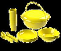 Набор посуды для пикника №9 «Вечеринка» (6 персон, 32 предмета) АП 184
