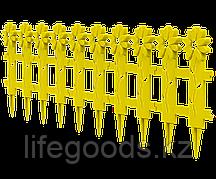 Заборчик декоративный «Ромашка» L-130см (5 секций 41×26см) АП 112