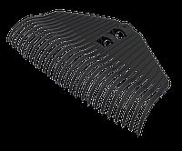 Грабли веерные без черенка «Агроном Премиум» (25 зубьев, 41,5×21×6,5см) АП 134