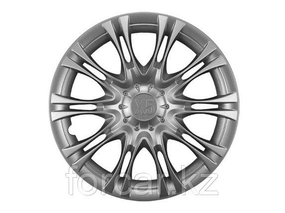 Колпак колесный LION X5 13 серебристый (4 шт.), фото 2