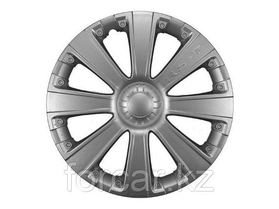 Колпак колесный LION RS-T 15 серебристый (4 шт.), фото 2