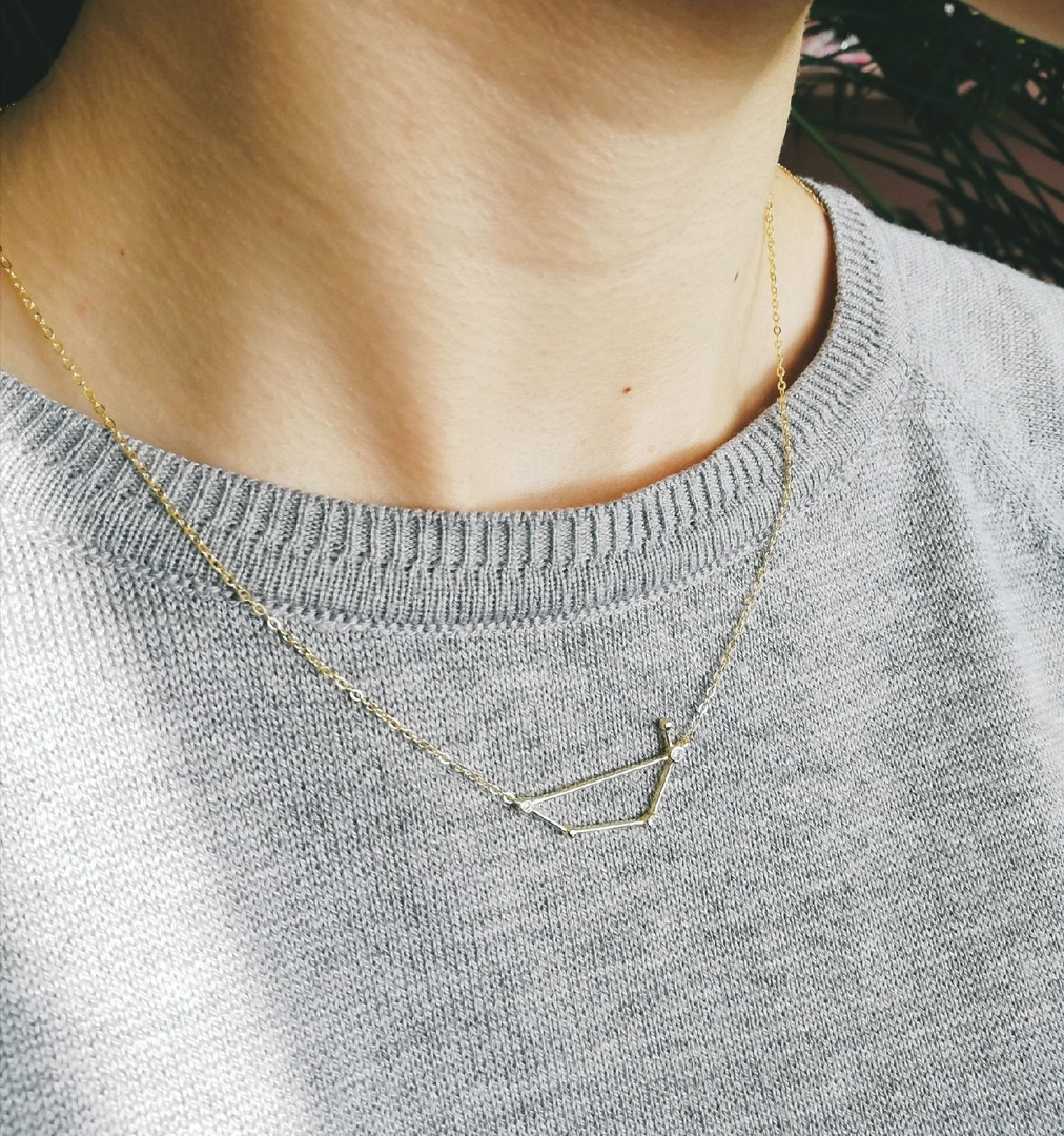 Серебряная подвеска Созвездие (Водолей)  Brosh Jewellery (Серебро 925)