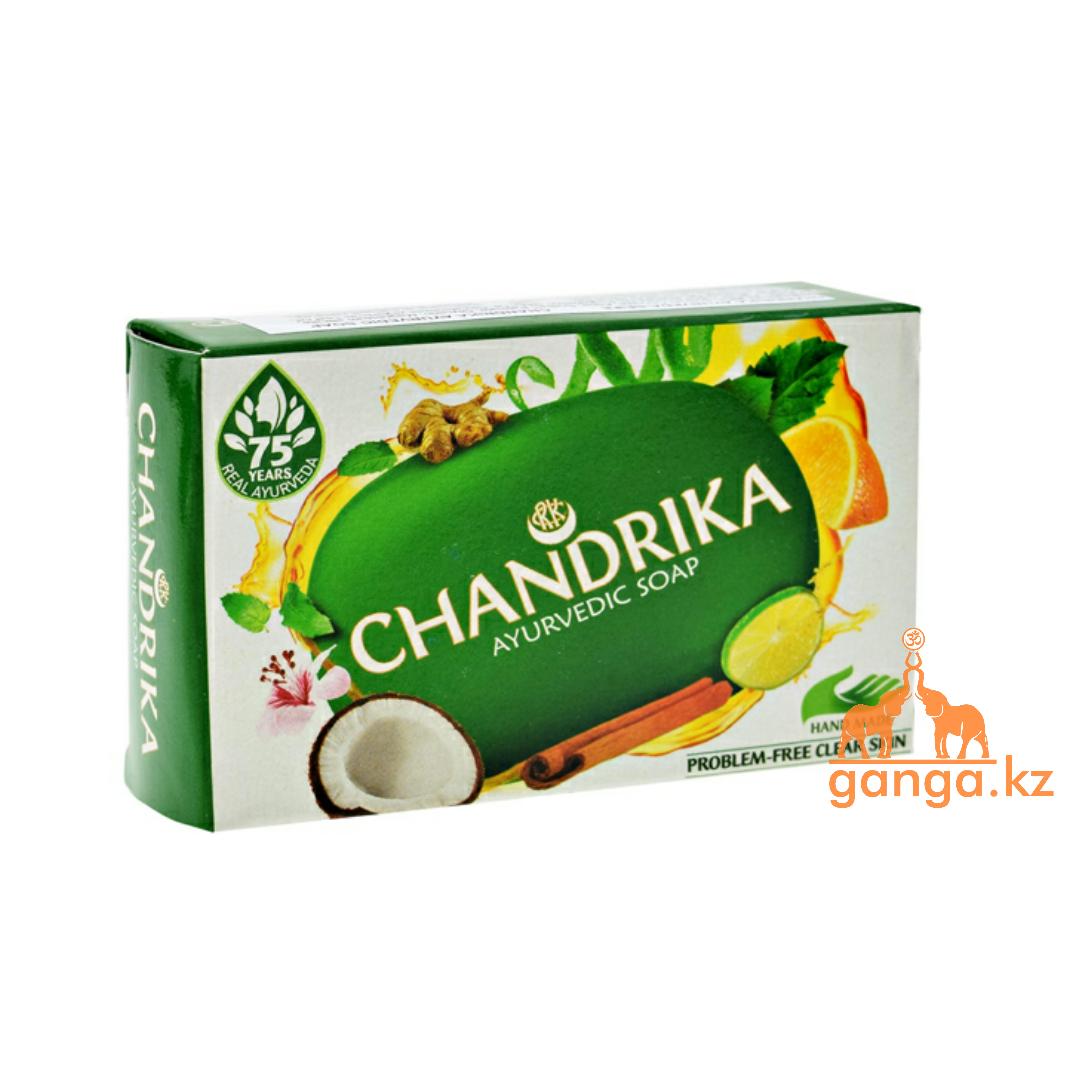 Мыло Чандрика (Chandrika Ayurvedic Soap), 75 гр