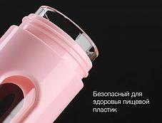 Бутылка стеклянная для хранения и переноски горячих жидкостей, фото 3