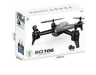 "Квадрокоптер(дрон) SG106 с двойной камерой, 22 минуты полёта, режим ""Следуй за мной"" Full HD"