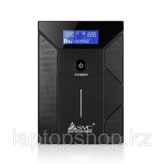 Источник бесперебойного питания SVC V-3000-F-LCD, Smart, USB, Мощность 3000ВА/1800Вт