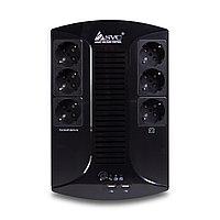 Источник бесперебойного питания SVC U-650-L, Smart, USB, Мощность 650ВА/390Вт, фото 1
