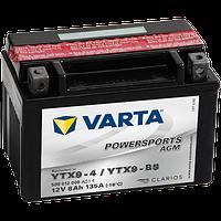 Аккумулятор Varta Powersports AGM YTX9-BS 8Ah 135A 150x87x105