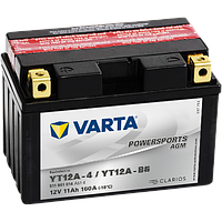 Аккумулятор Varta Powersports AGM YT12A-BS 11Ah 160A 150x87x105