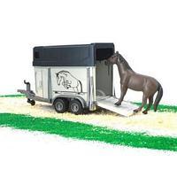 Прицеп-коневозка Bruder с лошадью 02-028
