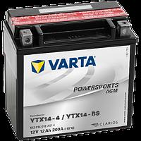 Аккумулятор Varta Powersports AGM YTX14-BS 12Ah 200A 152x87x147