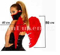 Крылья ангела красные складные объемные (размер L 50*40 см)