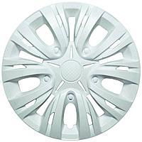 Колпак колесный LION Лион 14 белый глянец (4 шт.)