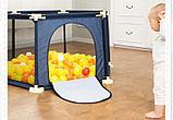 Детский манеж бассейн + 50 шариков, фото 5
