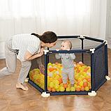 Детский манеж бассейн + 50 шариков, фото 3