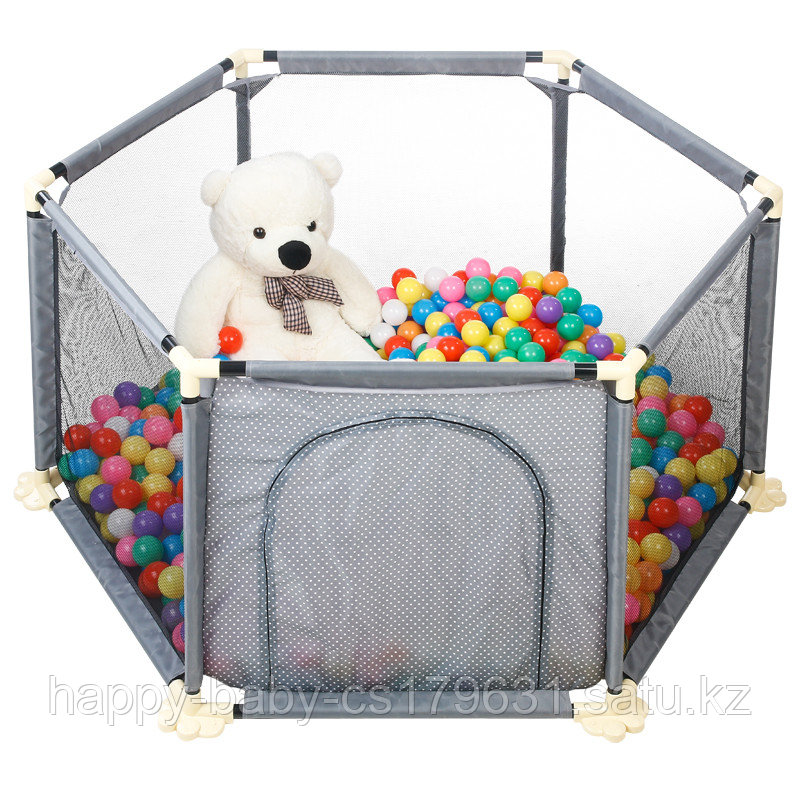 Детский манеж бассейн + 50 шариков
