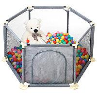 Детский манеж бассейн + 50 шариков, фото 1