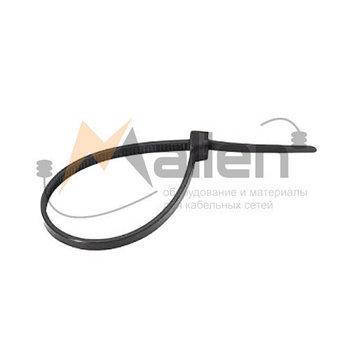 Стяжки нейлоновые СТН-Ч 5x370 мм (черные), 100 шт. МАЛИЕН арт. 870226