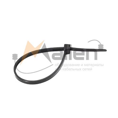 Стяжки нейлоновые СТН-Ч 5x450 мм (черные), 100 шт. МАЛИЕН арт. 870230