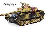 Большой радиоуправляемый боевой танк war tank, фото 2