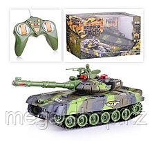 Большой радиоуправляемый боевой танк war tank