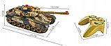 Большой радиоуправляемый боевой танк war tank, фото 3