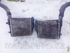 Радиатор интеркуллера Porsche Cayenne / VW Touareg Б/У оригинал 2003-2009