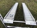 Погрузочные рампы от производителя 2,7 тонны, 4 метра, фото 4