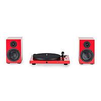 Комплект Pro-Ject Jukebox E + Speaker Box 5 красный