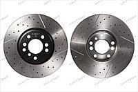 Тормозные диски перед Gerat BMW X5 X3 3.0 E53 E83 м перфорацией