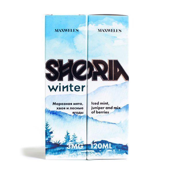 Жидкость для электронных сигарет  Maxwell's SHORIA Winter 120 мл 3 mg