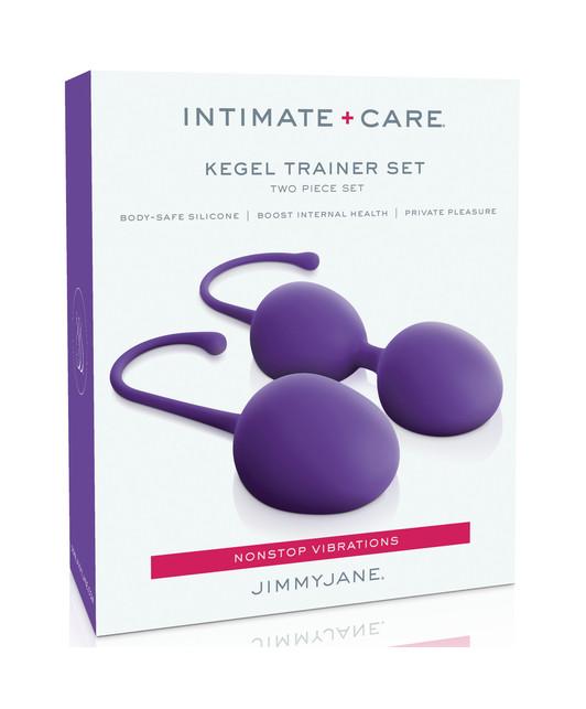 Набор тренажеров кегеля фиолетовый JIMMYJANE