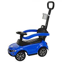 Толокар Pituso Volkswagen с родительской ручкой Синий