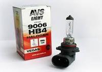 Галогенная лампа AVS Vegas в блистере HB4/9006.12V.55W.1шт.