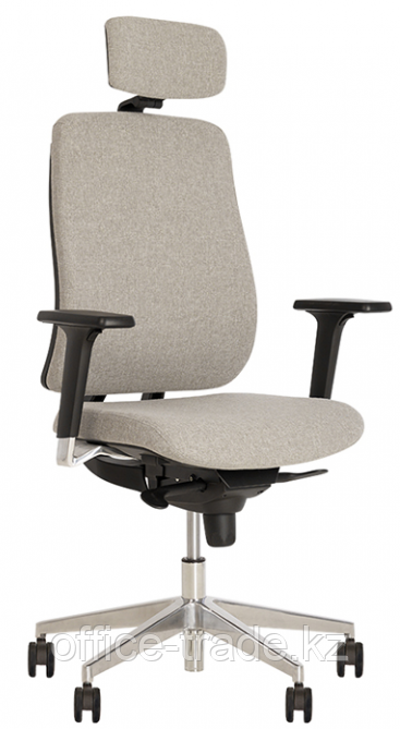 Кресло руководителя Absolut R HR Black WA AL70