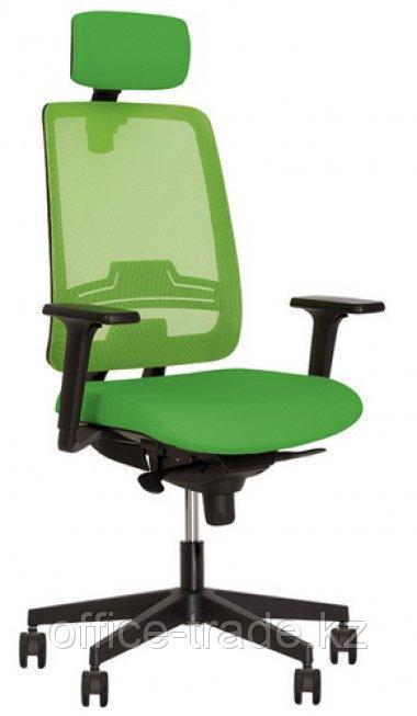 Кресло Absolut R Net HR Black WA PL70