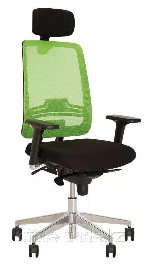 Кресло руководителя Absolut R Net HR Black WA AL70