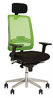 Кресло руководителя Absolut R Net HR Black WA AL70, фото 1