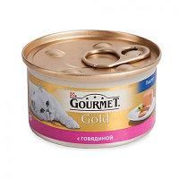 Gourmet Gold, Гурмэ Голд паштет с говядиной, уп.24*85 гр.