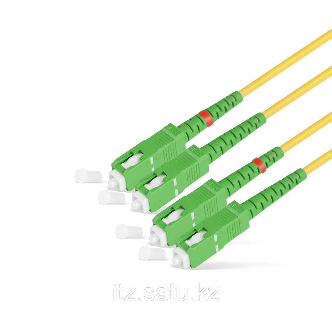 Патч Корд Оптоволоконный SC/APC-SC/APC SM 9/125 Duplex 2.0мм 3 м