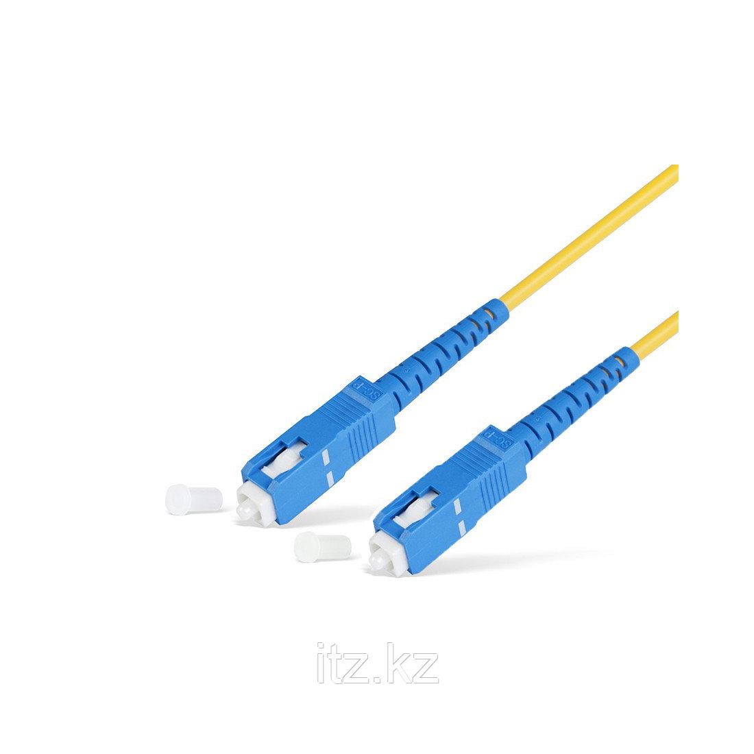 Патч Корд Оптоволоконный SC/UPC-SC/UPC MM OM2 50/125 Simplex 3.0мм 0,5 м