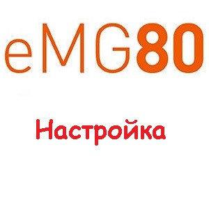 Подключение линий к IP АТС eMG80