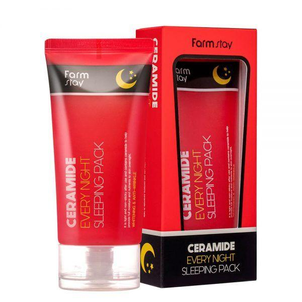 Ночная  маска Farm stay Ceramide Every Night  Sleeping Pack 120 ml.