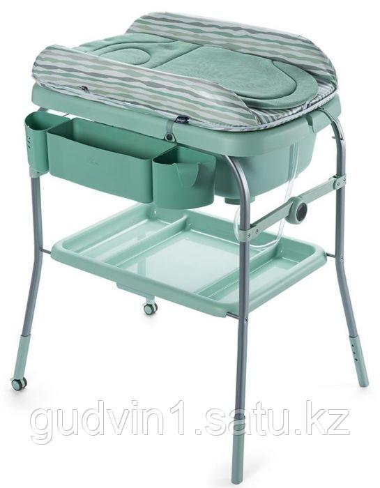 Chicco: Столик для пеленания + ванночка Dusty Green 1069370