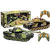 Большой танковый бой из двух танков 9995 2PC, war tank