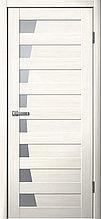 Межкомнатная дверь из экошпона F45 листвиница светлая