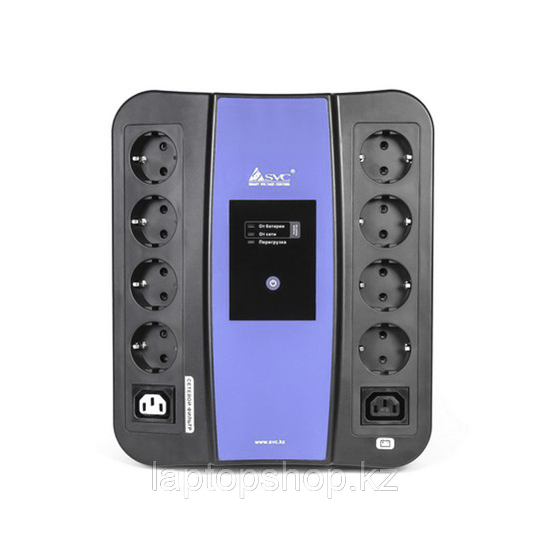 Источник бесперебойного питания SVC U-600, Smart, USB, Мощность 600ВА/360Вт