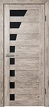 Межкомнатная дверь из экошпона F45 дуб муссон;дуб серый