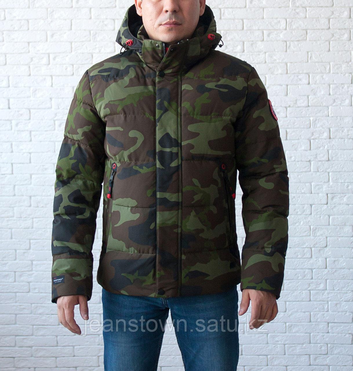Куртка мужская зимняя  Shark Force  короткая серая