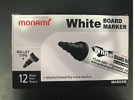 Маркер для доски Monami черный